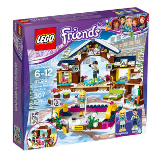 You added <b><u>Lego Friends Snow Resort Ice Rink 41322</u></b> to your cart.