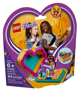 Lego Friends Andrea's Heart Box 41354