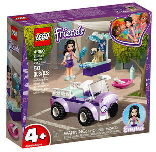 You added <b><u>Lego Friends Emma's Mobile Vet Clinic 41360</u></b> to your cart.