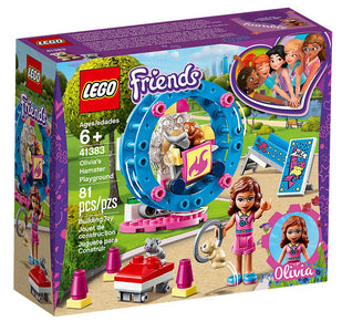 You added <b><u>Lego Friends Olivia's Hamster Playground 41383</u></b> to your cart.
