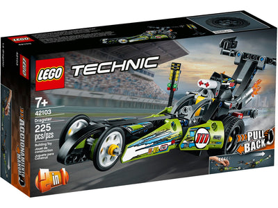 You added <b><u>LEGO Technic Dragster 42103</u></b> to your cart.