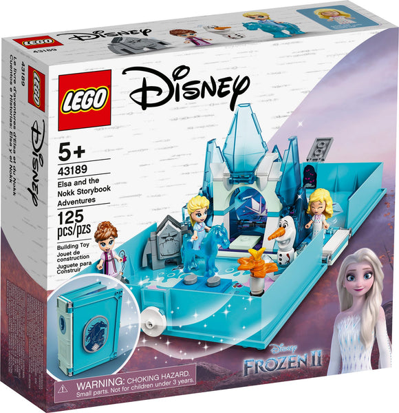 LEGO Elsa & the Nokk Storybook Adventures 43189