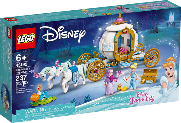 LEGO Disney Cinderella's Royal Carriage 43192