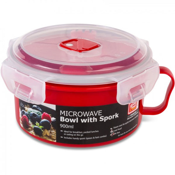 Good2Heat Microwave Bowl with Spork 900ml