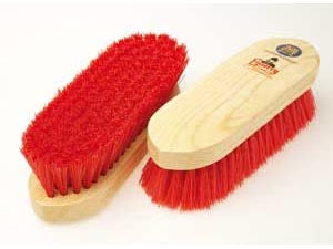 Equerry Wooden Dandy Brush Red