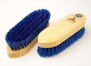 Equerry Wooden Dandy Brush Blue