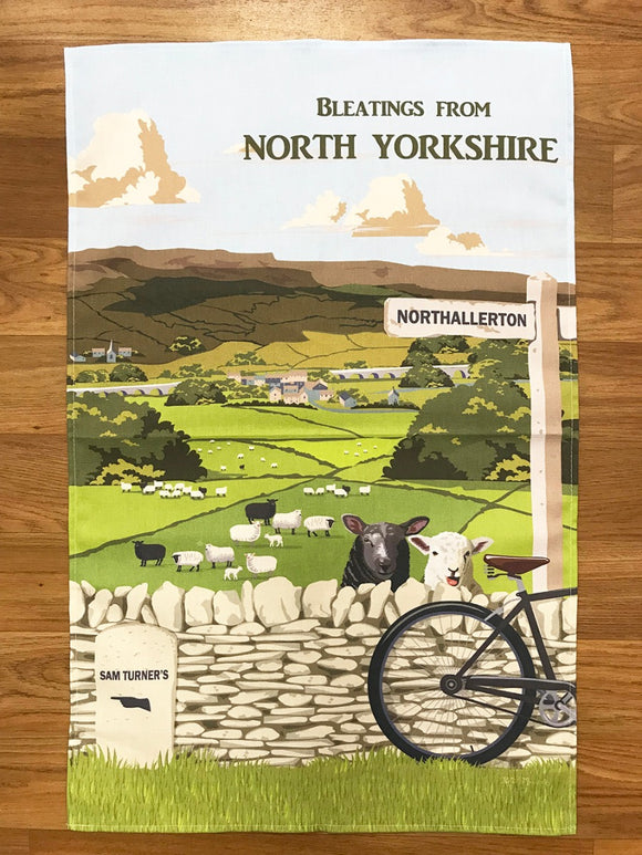 Sam Turner's North Yorkshire Cotton Tea Towel