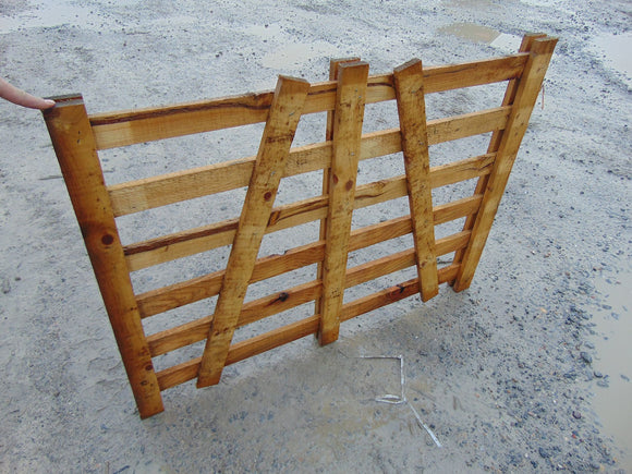 Wooden Sheep Hurdle 1.2m