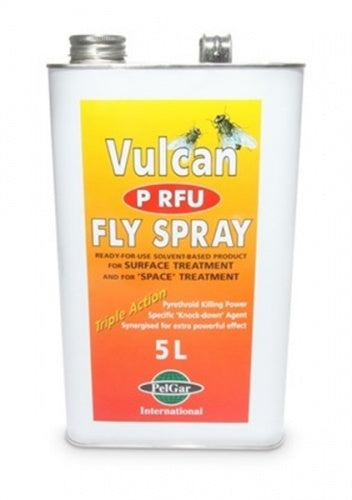 Vulcan Fly P RFU Fly Spray 5L