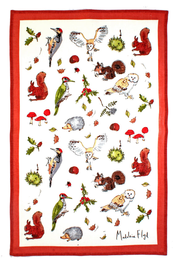 Ulster Weavers Cotton Tea Towel Woodland