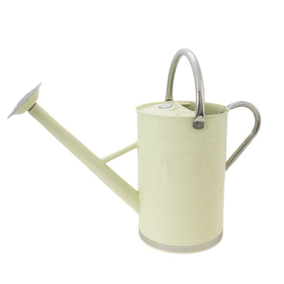 Kent & Stowe Cream Metal Watering Can 9L