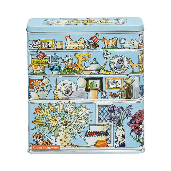 Emma Bridgewater Cereal Tall Wide Rectangular Storage Tin