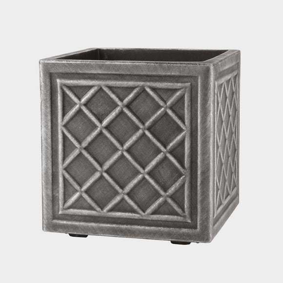 Stewart Lead Effect Square Planter