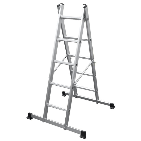 Youngman Combination Ladder Pro-Deck 5 Way 5101518
