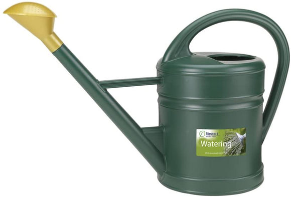 Stewart Traditional Watering Can Green 10L