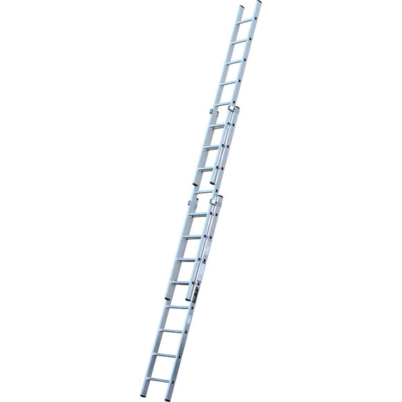 Youngman Extension Ladder Trade 200 3 Section 2.5m