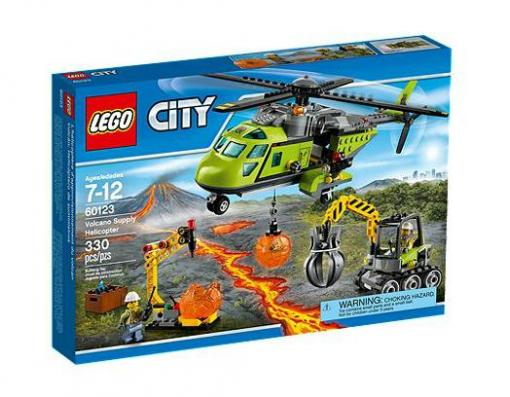 Lego City Volcano Supply Helicopter 60123