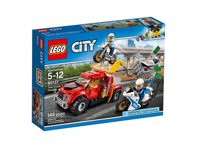 You added <b><u>LEGO City Tow Truck Trouble 60137</u></b> to your cart.