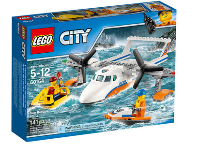 You added <b><u>Lego City Sea Rescue Plane 60164</u></b> to your cart.