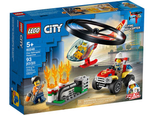 Lego City Fire Helicopter Response 60248