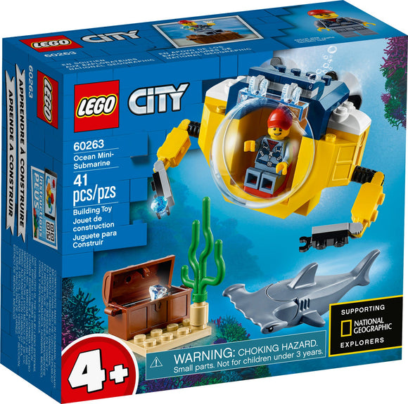 Lego City Ocean Mini-Submarine 60263