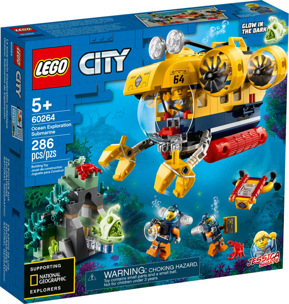 Lego City Ocean Exploration Submarine 60264