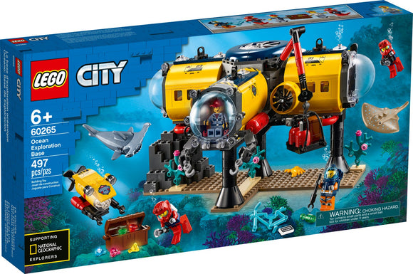 Lego City Ocean Exploration Base 60265