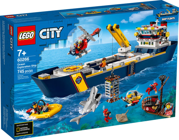 Lego City Ocean Exploration Ship 60266