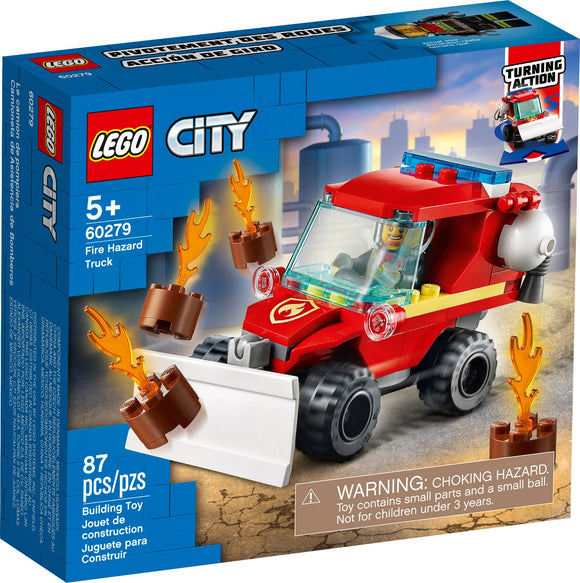 LEGO City Fire Hazard Truck 60279