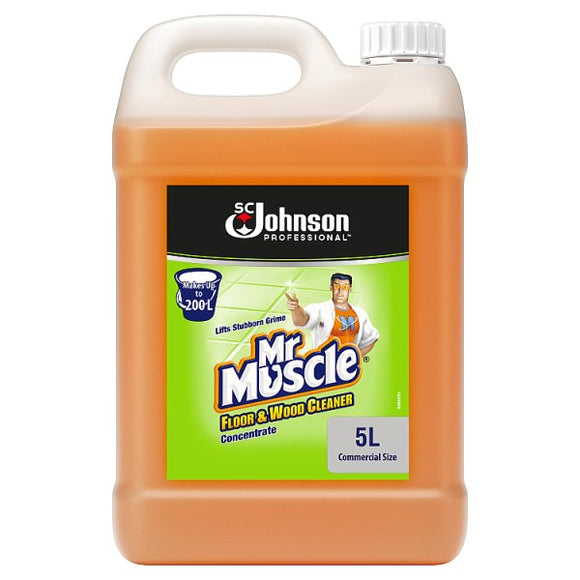 Mr Muscle Floor & Wood Cleaner Concentrate 5L