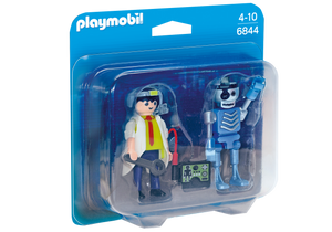 Playmobil City Life Scientist with Robot Duo Pack 6844
