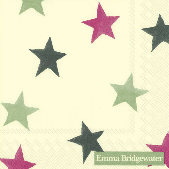 Emma Bridgewater Christmas Star Cocktail Napkins