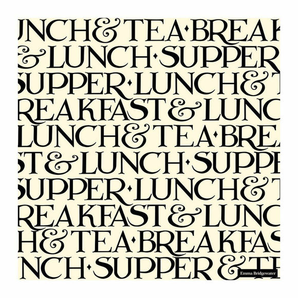 Emma Bridgewater Black Toast Lunch Napkins