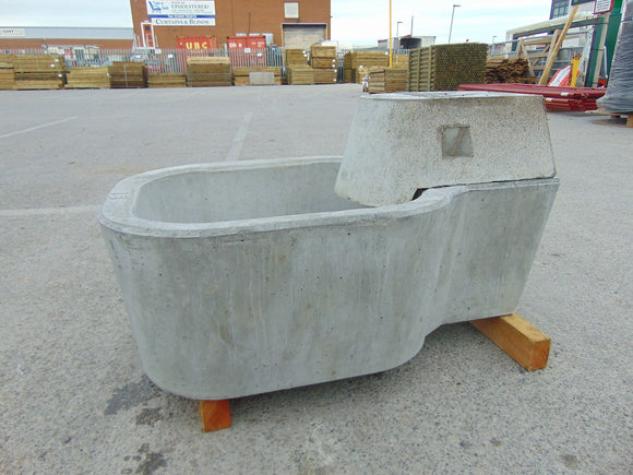 Moore Concrete Cattle Water Trough 68L 15gal