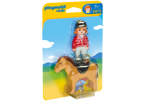 Playmobil Equestrian with Horse 6973