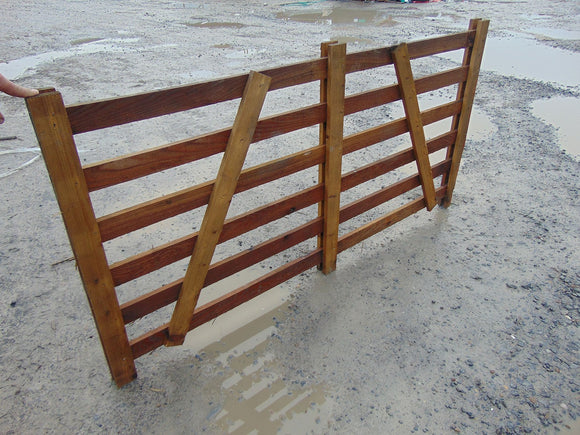 Wooden Sheep Hurdle 1.8m
