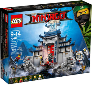 Lego Ninjago Temple Of The Ultimate Weapon 70617