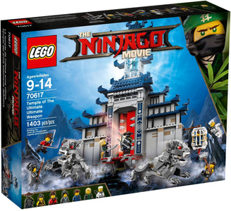 You added <b><u>Lego Ninjago Temple Of The Ultimate Weapon 70617</u></b> to your cart.