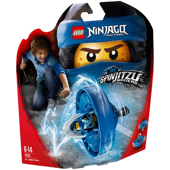 Lego Ninjago Movie Jay Spinjitzu Master 70635
