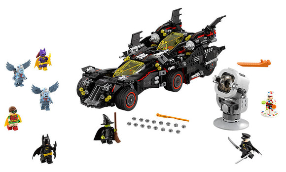 Lego Batman The Ultimate Batmobile 70917