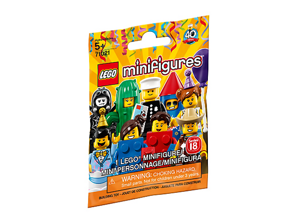 Lego Minifigures Series 18 Party 71021
