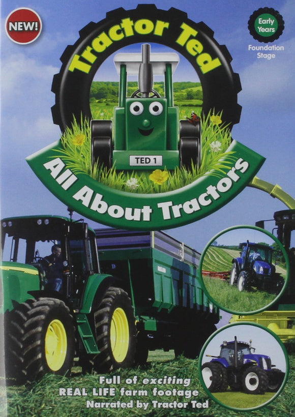Tractor Ted - All About Tractors DVD