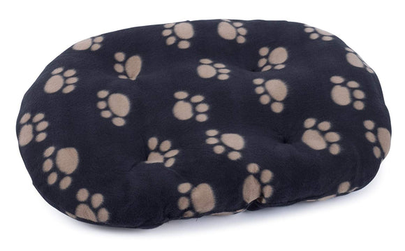 Petface Archies Oval Cushion Black XS