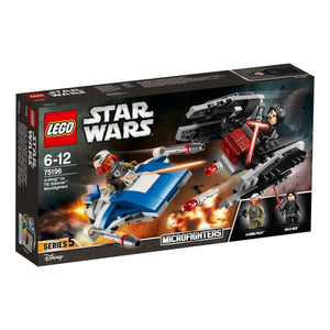 You added <b><u>Lego Star Wars A-Wing vs TIE Silencer Microfighters 75196</u></b> to your cart.