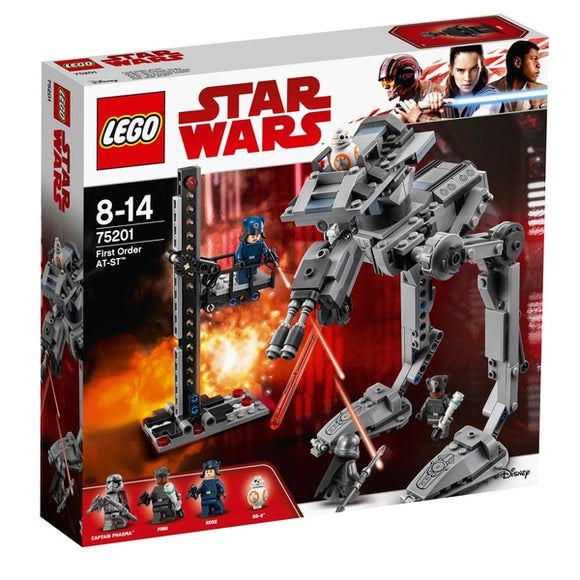Lego Star Wars The Last Jedi First Order AT-ST 75201
