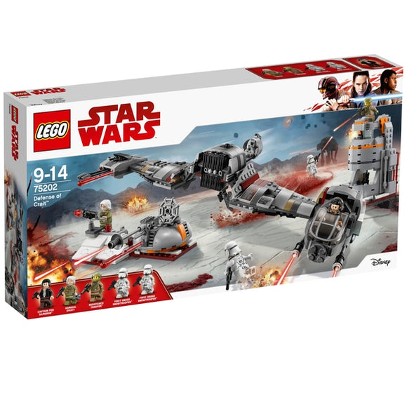Lego Star Wars The Last Jedi Defense of Crait 75202