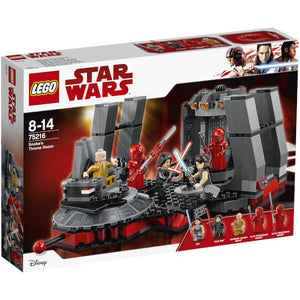 You added <b><u>Lego Star Wars Snokes Throne Room 75216</u></b> to your cart.