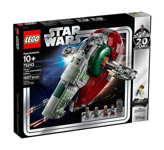 You added <b><u>Lego Star Wars Slave l 20th Anniversary Edition 75243</u></b> to your cart.