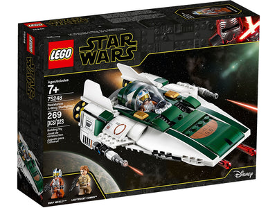 You added <b><u>Lego Star Wars Resistance A-Wing Starfighter 75248</u></b> to your cart.