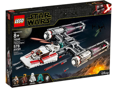 You added <b><u>Lego Star Wars Resistance Y-Wing Starfighter 75249</u></b> to your cart.
